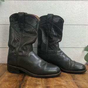 Justin Boots Roper Women's 5C Black Boots